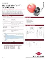 SCT-0450-050 UL-Listed Current Transformer