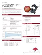 SCT-0950-200 UL-Listed Current Transformer