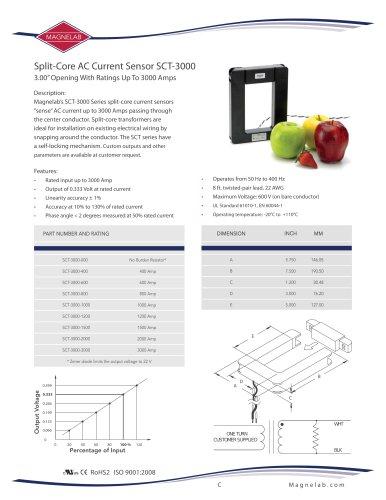 SCT-3000 Split Core Current Transformer