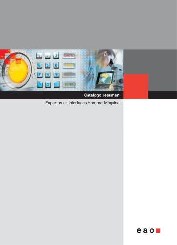 Condensed Catalogue - Catálogo resumen