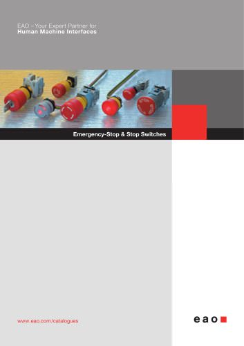 Emergency Switches Product Catalog