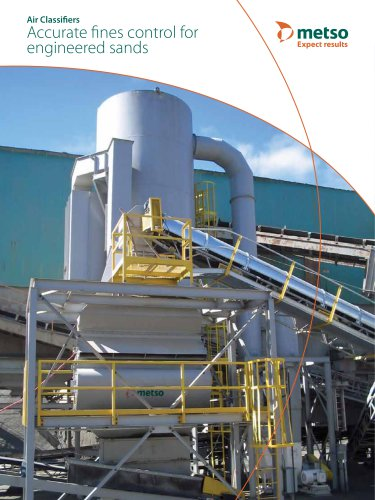 Air Classifiers Accurate Fines Control for Engineered Sands Brochure