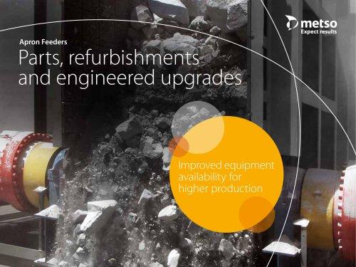 Apron Feeders Parts, Refurbishments and Engineered Upgrades Brochure