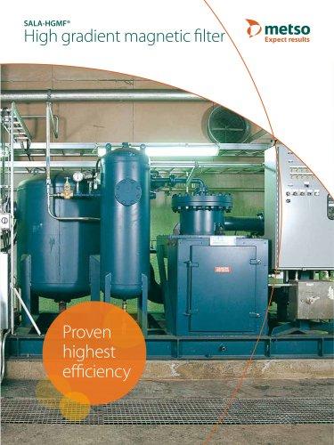 High Gradient Magnetic Filter (HGMF) Brochure