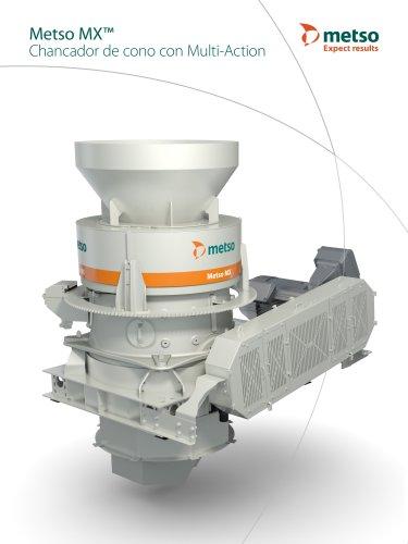 Metso MX™ Chancador de cono con Multi-Action