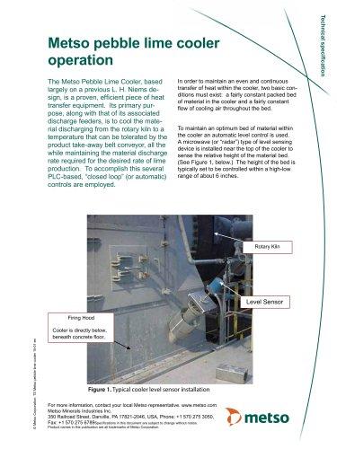 Pebble Lime Cooler Brochure
