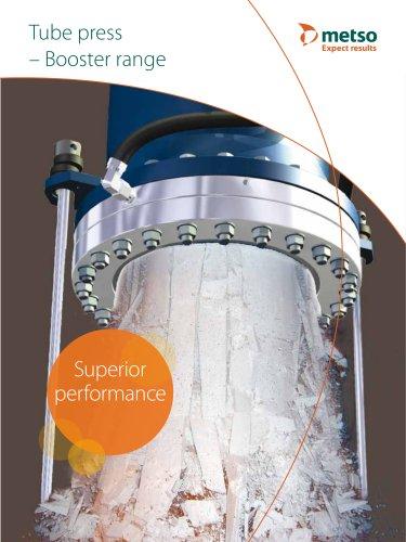Tube Press Booster Range Brochure