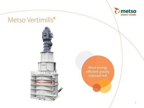 VERTIMILL® Grinding Mills & Stirred Media Detritor Brochure