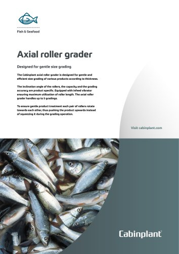 Axial roller grader