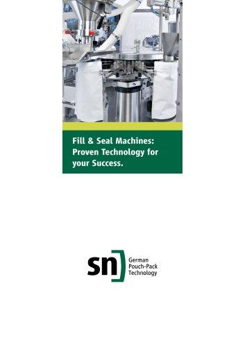 Fill & Seal Machines