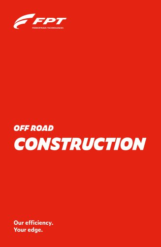OFF ROAD CONSTRUCTION
