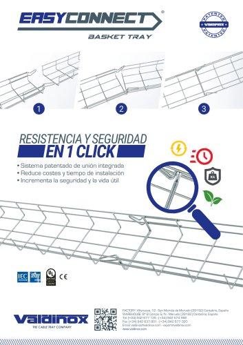 Catálogo de bandejas portacables EASYCONNECT