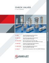 H400 Check Valves